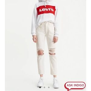 NWT Levis 501 High Rise Original Cropped